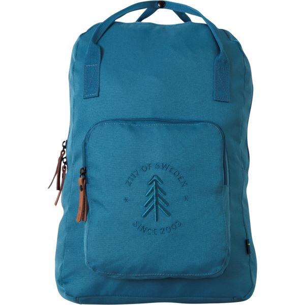 Unisex městský batoh 2117  STEVIK 20L petrolejově modrá