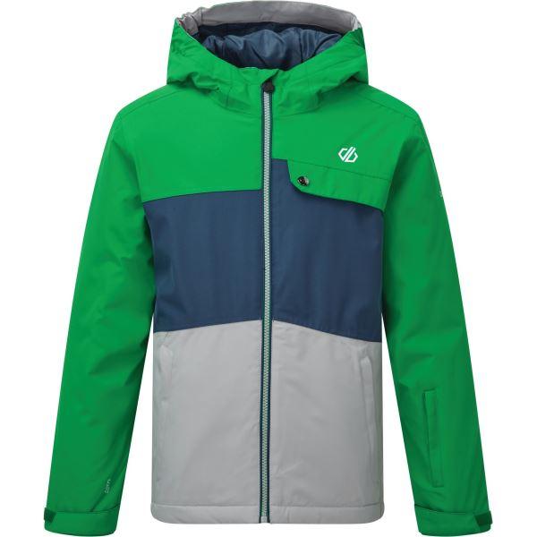 Dětská zimní bunda Dare2b ENIGMATIC modrá/zelená