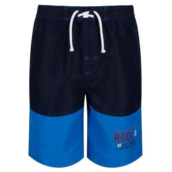 Dětské kraťasy Regatta SHAUL II tmavě modrá/modrá