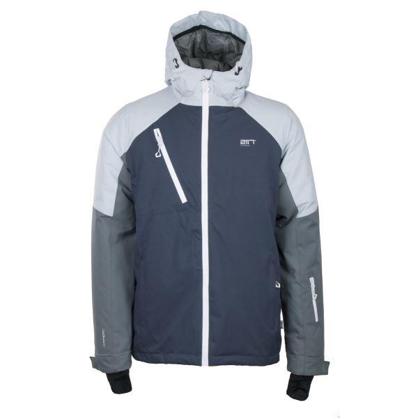 Pánská lyžařská bunda 2117 GRYTNÄS inkoustově šedá