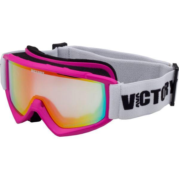Dětské lyžařské brýle Victory SPV 620 růžová