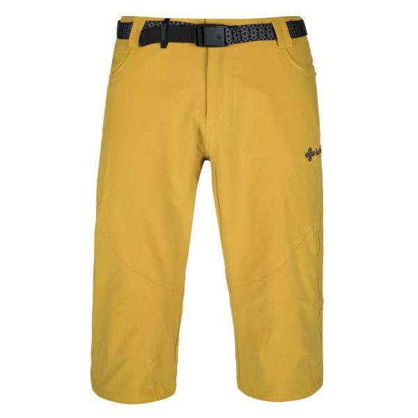 Pánské 3/4 kalhoty KILPI OTARA-M žlutá