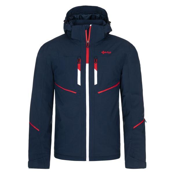 Pánská zimní lyžařská bunda KILPI TONN-M tmavě modrá