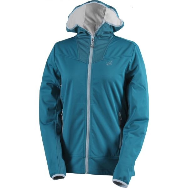 Dámská softshellová bunda 2117 FÄRILA petrolejově modrá