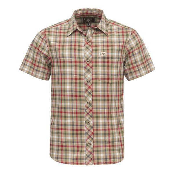 Pánská košile BUSHMAN VALLE světle hnědá