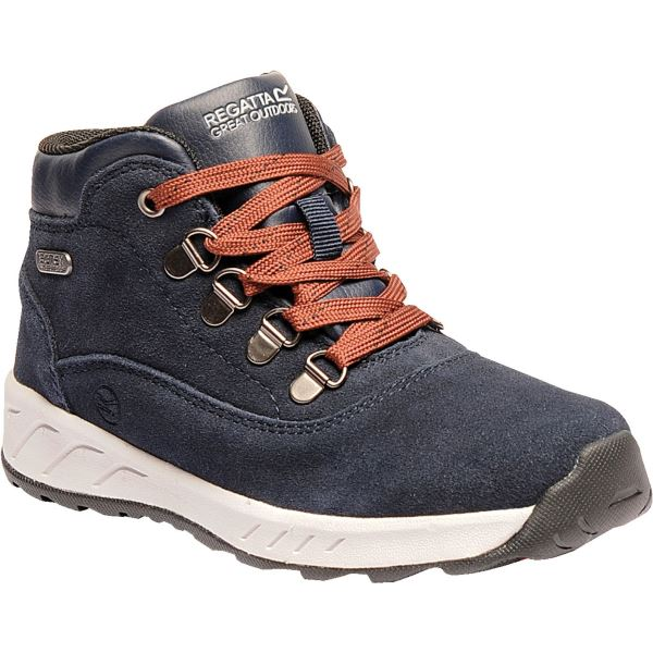 Dětské boty Regatta GRIMSHAW tmavě modrá