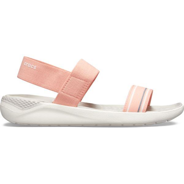 Dámské sandály Crocs LiteRide Sandal W melounově růžová/bílá