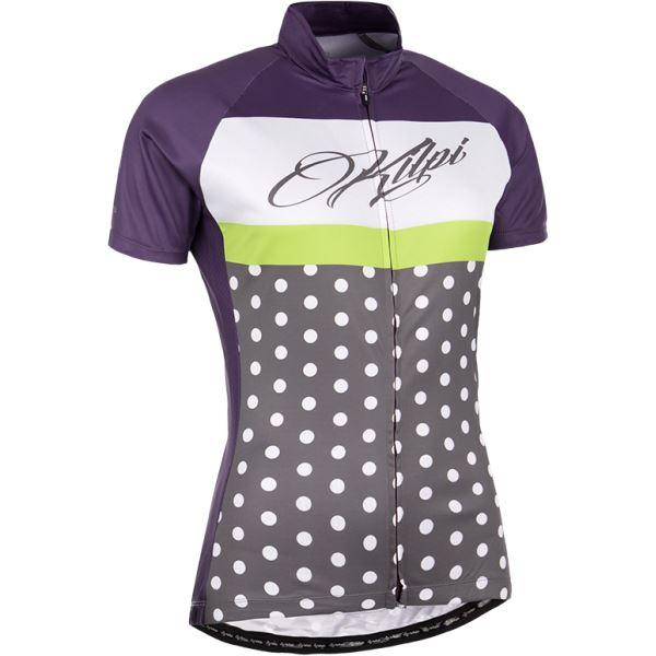 Dámský cyklistický dres KILPI DOTTY-W fialová