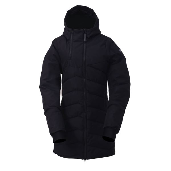 Pánský zateplený kabát 2117 ELLANDA černá