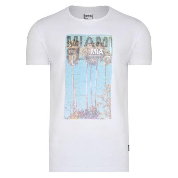 Pánské tričko Dare2b METROPOLIS Tee bílá