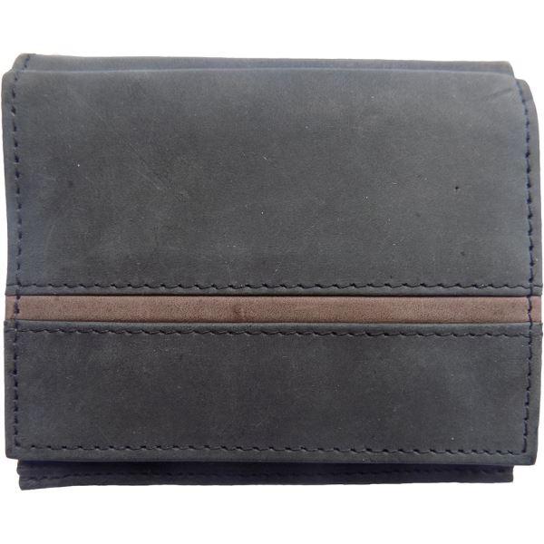 42f1b7dc6 Pánská kožená peněženka WFY 346 černá | hs-sport.cz