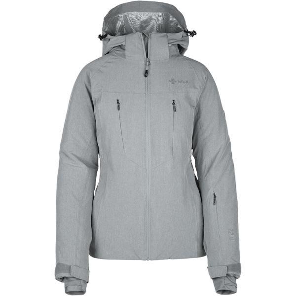 Dámská zimní lyžařská bunda KILPI ADDISON-W šedá