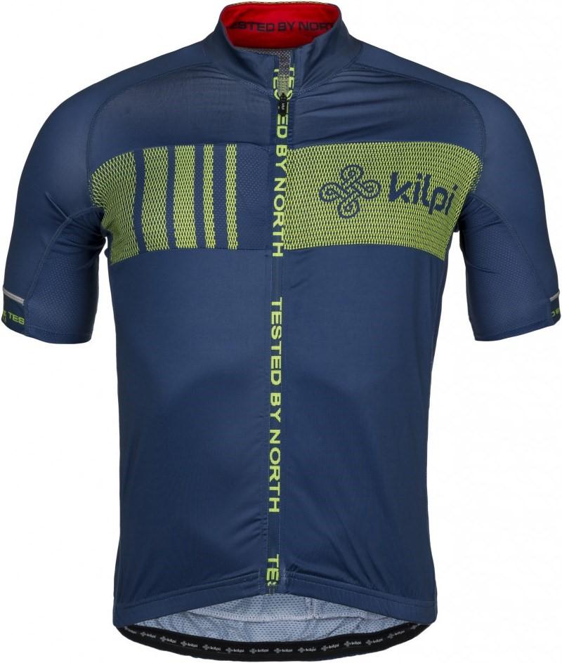 7a11d007e Pánský cyklistický dres KILPI CHASER-M tmavě modrá | hs-sport.cz