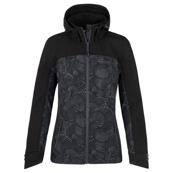Dámská softshellová bunda KILPI RAVIA-W tmavě šedá
