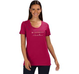 Dámské tričko Regatta FILANDRA III tmavě růžová