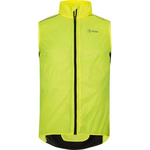 Pánská ultralehká vesta KILPI FLOW-M žlutá