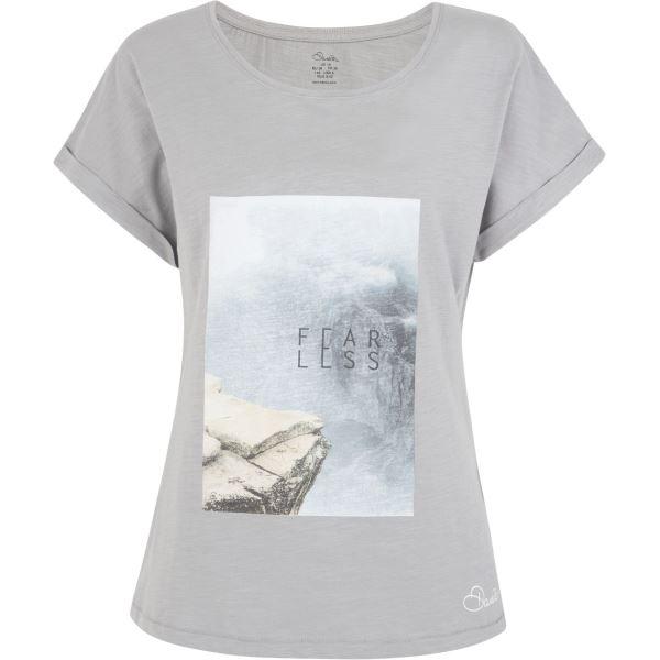 Dámské tričko Dare2b LAIDBACK Tee šedá