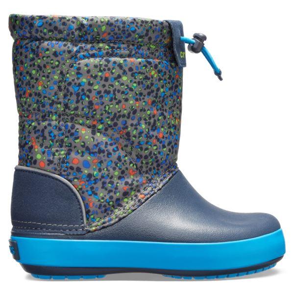 Dětské boty Crocs CROCBAND LodgePoint tmavě modrá