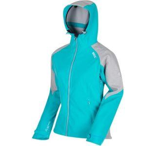 Dámská softshellová bunda Regatta DESOTO III modrá/šedá