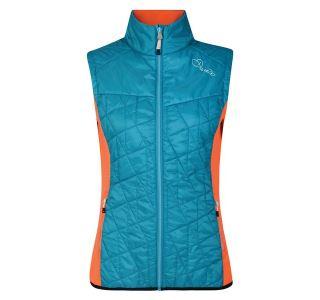 Dámská vesta Dare2b DECOROUS modrá/oranžová