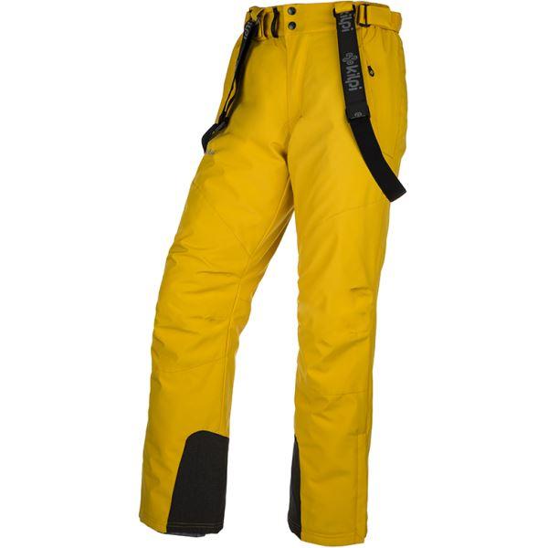 Pánské lyžařské kalhoty KILPI MIMAS-M žlutá