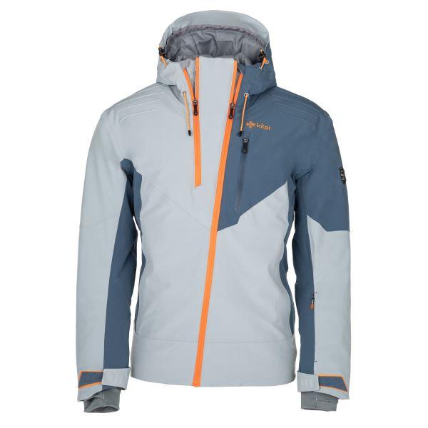 Pánská zimní lyžařská bunda KILPI THAL-M světle modrá