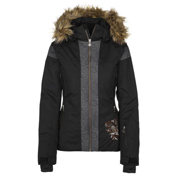 Dámská zimní lyžařská bunda KILPI DELIA-W černá