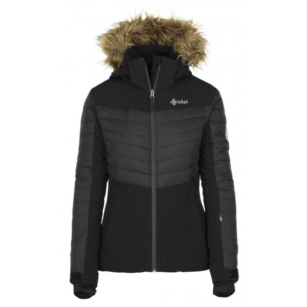 Dámská zimní lyžařská bunda KILPI BREDA-W černá