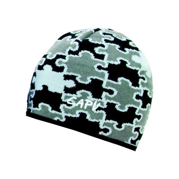 Pánská zimní čepice CAPU 2110 šedá