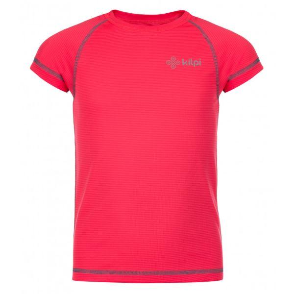 Dětské tričko KILPI TECNI-JG růžová