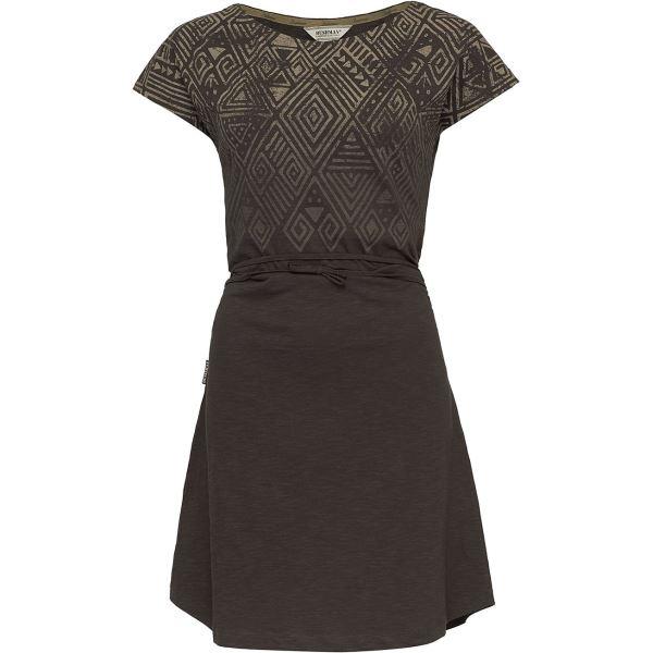 Dámské šaty BUSHMAN AFRICANA tmavě hnědá