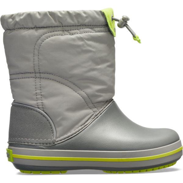 Dětské boty Crocs CROCBAND LodgePoint Boot K šedá