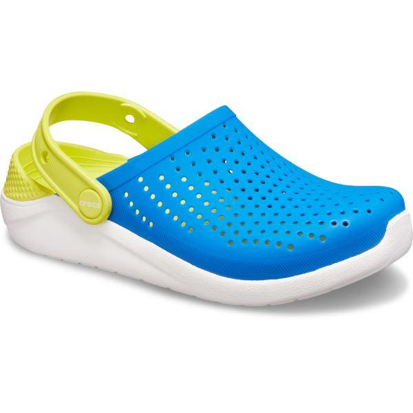 Dětské boty Crocs LiteRide Clog K modrá/zelená