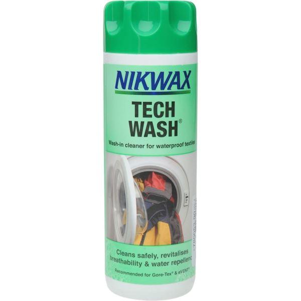 Nikwax TECH WASH - prací prostředek na tkaniny 300 ml