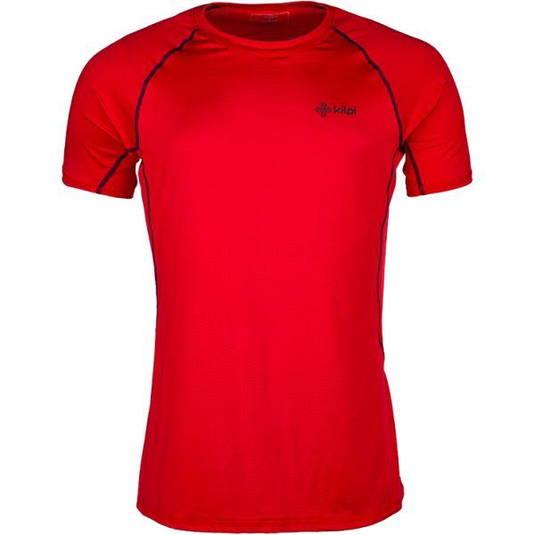 Pánské tričko KILPI RAINBOW-M červená (kolekce 2018)