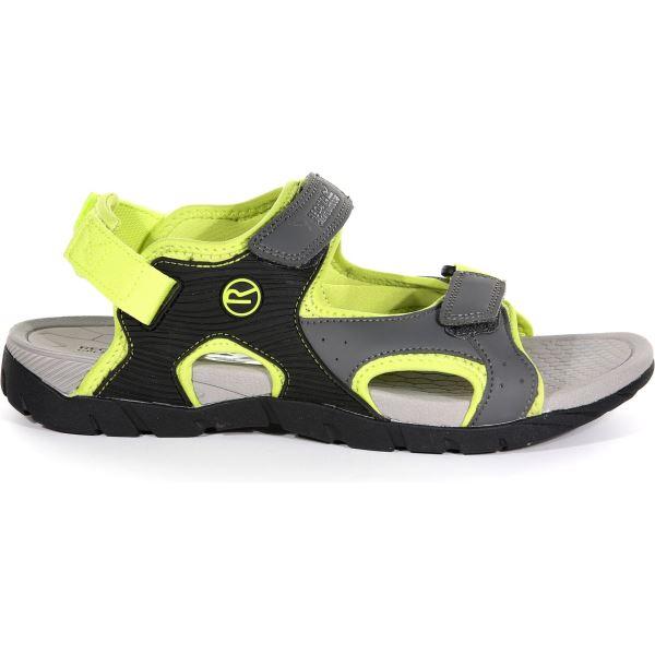 Pánské sandále Regatta RAFTA Sport šedá/zelená