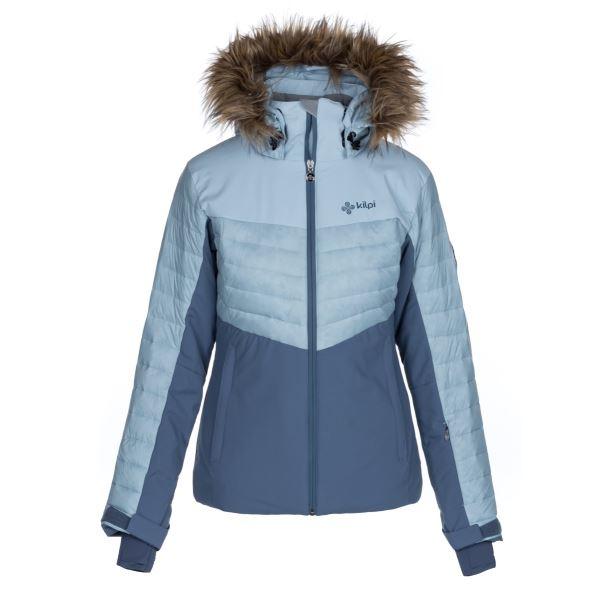 Dámská zimní lyžařská bunda KILPI BREDA-W světle modrá