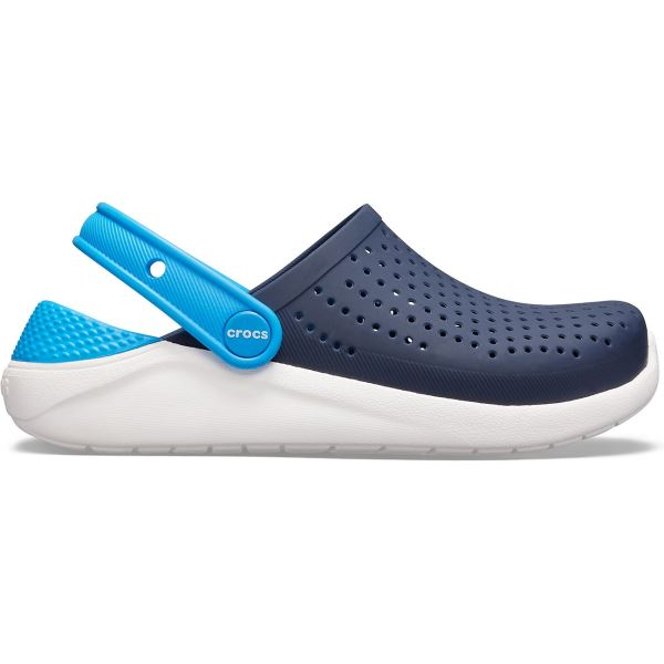 Dětské boty Crocs LiteRide Clog K tmavě modrá/bílá