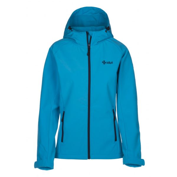 Dámská softshellová bunda KILPI ELIA světle modrá