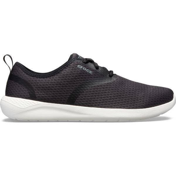 Pánské boty Crocs LiteRide Mesh Lace M černá/bílá