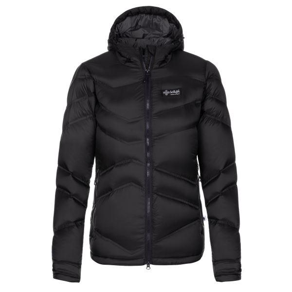 Dámská zimní péřová bunda KILPI GUUS-W černá