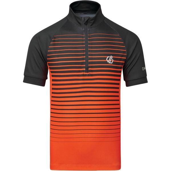 Dětský cyklistický dres Dare2b GO FASTER oranžová/černá
