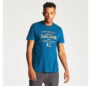 Pánské tričko Dare2b RACEMAKER TEE modrá