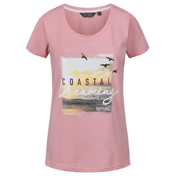 Dámské tričko Regatta FILANDRA III světle růžová