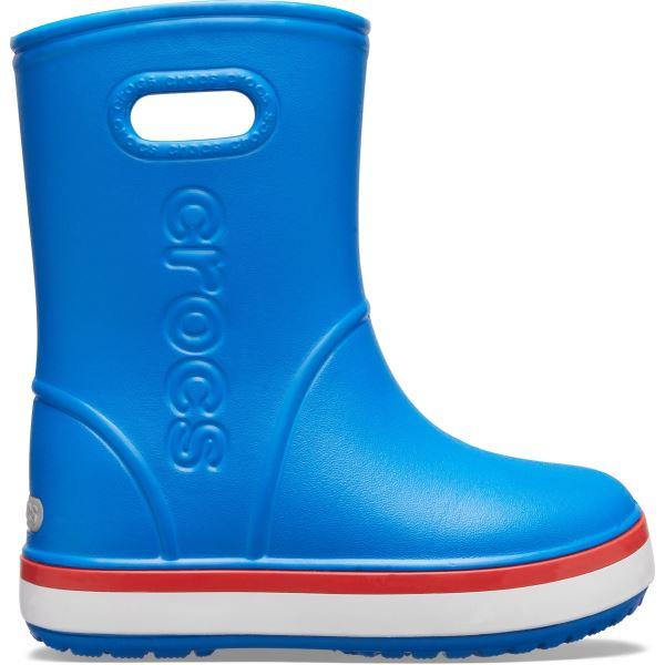 Dětské holínky Crocs CROCBAND Rain Boot modrá