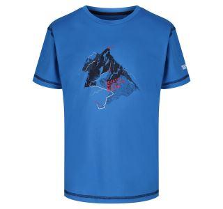 Dětské funkční tričko Regatta ALVARADO IV modrá