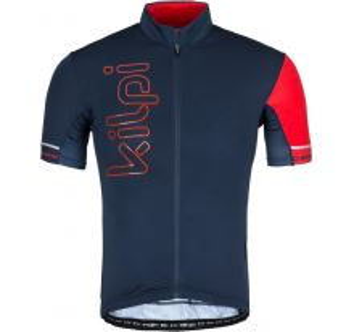 Pánský cyklistický dres KILPI ELYON-M tmavě modrá