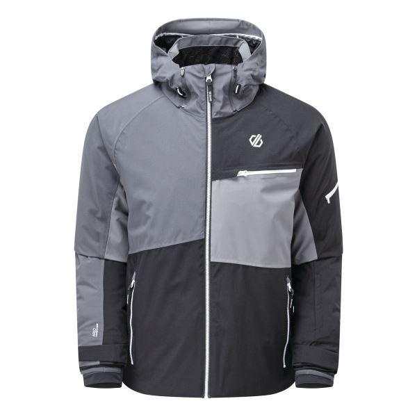Pánská zimní bunda Dare2b SUPERCELL PRO černá/šedá