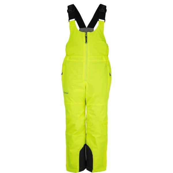 Dětské zimní lyžařské kalhoty KILPI CHARLIE-JB žlutá (kolekce 2019)