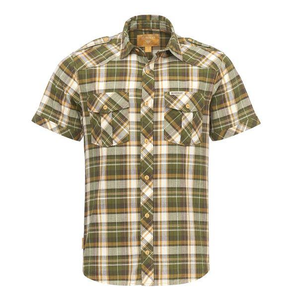 Pánská košile BUSHMAN BAGDAD zelená